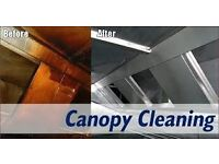 Canopy and duct cleaning