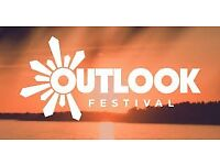 2 x Outlook Festival Weekend Tickets 2018 (optional opening ceremony/boat party tickets available)