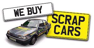 WANTED SCRAP CARS  $$$$