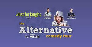 Alternative Comedy Tour- FRONT ROW CENTRE- Sony Centre- Nov. 4