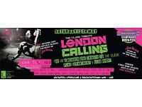 DEPARTMENT S CLUB NIGHT with CLASH Tribute Band LONDON CALLING