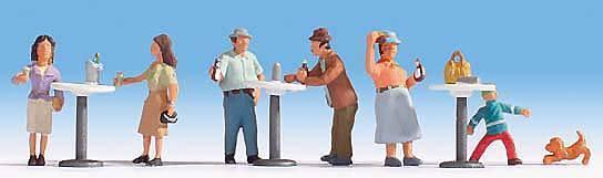 Figurines Noch H0 (15833): Standing Café