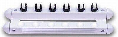 Queuehalter für 6 Queues, weiß (1306)