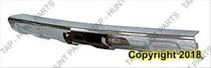 Bumper Front Lower Moulding Chrome Lt/Ltz CAPA Chevrolet Equinox 2010-2015