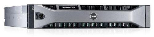 Dell Compellent SC220 24 SFF 10.8TB (12x 900GB 10K SAS) Storage Array