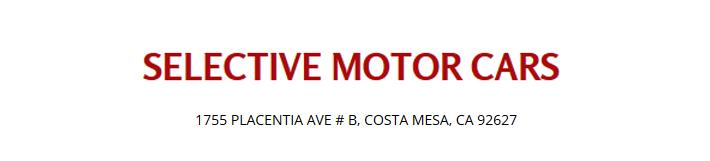 selectivemotorcars