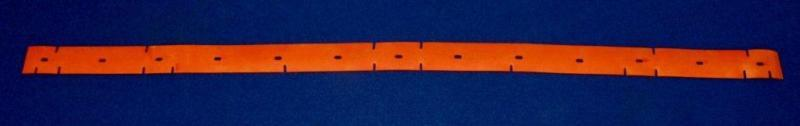 Tennant 1023398 Front Squeegee Blade Fits Floor Scrubber Models  A5 T5e SS24-32