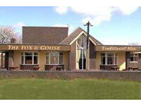 Fox and Goose, Farmers Way, Westlands Estate, Droitwich. Live-in pub management couple