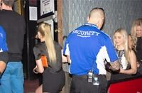 Security for bars/events Woodstock car pool available
