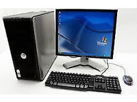 "PROFESSIONALLY REFURBISHED DELL 755 PC 19"" MONITOR KEYBOARD MOUSE 250 HD 4GB RAM 2.6GHZ WARRANTY"