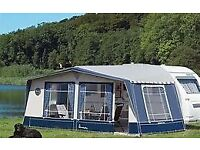 ** reduced ** NEW / NEVER USED - AMBASSADOR CROWN AWNING TENT - CLACTON CO15 6AJ