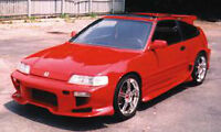 ****NEW 88-91 HONDA CRX SHOGUN Front Bumper + Side Skirts****