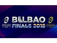 European Rugby Champion Cup Final Tickets Bilbao