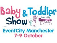 Baby & Toddler Show Tickets at Event City Manchester Fri 7th Oct