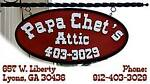 Papa Chet s Attic