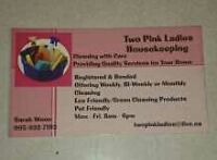 Eco Friendly/Green Cleaner at Your Service has Biweekly opening