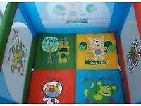 Kiddicare safari play pen/travel cot