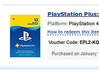 Playstation plus 365 day online reedemable code