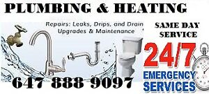 GTA Plumbing Installation & Repair Services 24/7 Toilet Faucet