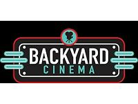 2 x Backyard Cinema Romeo & Juliet tickets 31st March!!