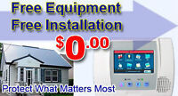 FREE ALARM SYSTEM ($1400 Savings) FOR HOME OR BUSINESS.
