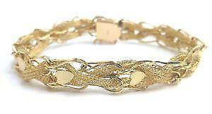 Vintage 14k Gold Charm Bracelets