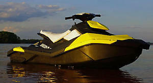 2014 Sea doo Spark with Trailer
