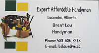 Law's Handyman Services Lacombe & Surrounding area