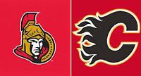 Ottawa Senators vs Flames, Feb 27, Saturday Night Game