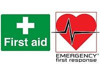 Emergency First Aid At Work for special offer £90