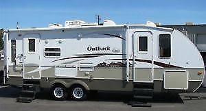 Roulotte Outback 27RLS Special Edition-2006 à échanger