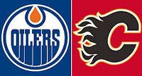 Edmonton Oilers Tickets vs. Calgary Flames - Saturday October 31