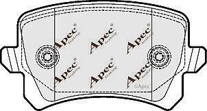 REAR BRAKE PADS FOR AUDI Q3 GENUINE APEC PAD1654