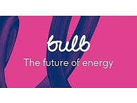 £50 of your gas electricity bill with bulb energy !!