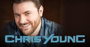 Chris Young @ The Colosseum Feb 24th Center Floor Tickets