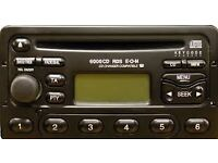 ford focus cd radio with code