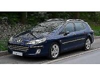 2005 PEUGEOT 407 1.6 HDI SW X-L ESTATE - GREAT SPACIOUS CAR, HIGHER X-L SPEC, VERY GOOD MPG,