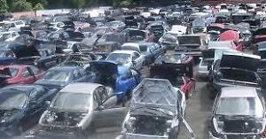 Automotive used auto parts, crushing, salvage, wrecking