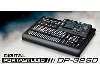 Tascam DP-32 SD HD Recorder Digital Portastudio - New Boxed