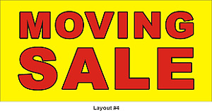 MOVING SALE !!