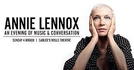 Annie Lennox 4 March x 2 Stalls tickets