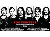 1 x Standing Foo Fighters @ London 23rd June