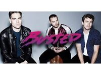 Busted Tickets x4 GREAT FRONT ROW BALCONY SEATS Southend Cliffs Pavilion Mon 6th Feb £75 EACH