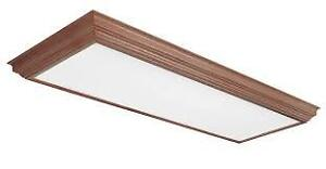 White Ceiling Light Fixture COVER