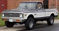 LOOKING FOR PRE 1973 4X4 PICKUP TRUCK