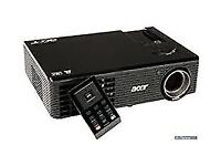 ACER projector x110p in a very good condition .