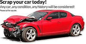 WE PAY THE BEST PRICE FOR SCARP CAR CALL OR TEXT 6477021119
