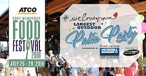 SELLING:Two #WELOVEYMM Outdoor Patio Party Tickets $80