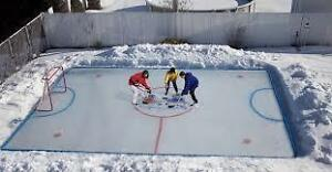 complete backyard rink kit