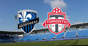 5X Toronto FC @ Impact Section 120 45$ Face value